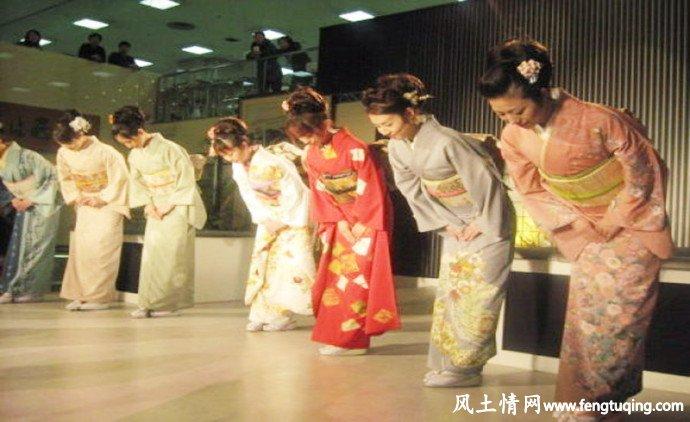 日本人的礼仪习俗